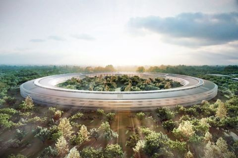 Apple Campus 2 View