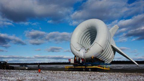 Altaeros Energies' Buoyant Airborne Turbine