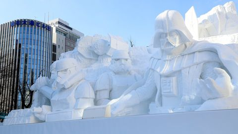 Sapporo Snow Festival Star Wars