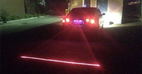 mist laser