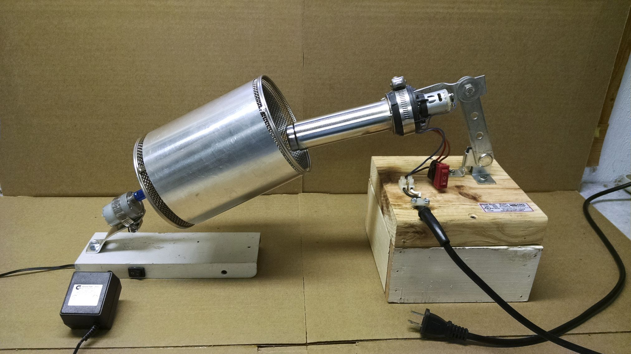 Project Of The Month Homemade Coffee Roaster