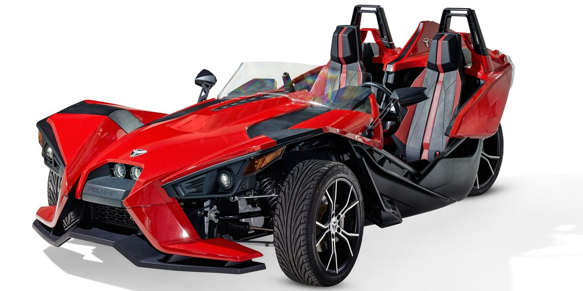 Spider Three Wheel Motorcycle >> The Polaris Slingshot Is the $20,000 Three-Wheeler a Marvel Superhero Would Drive