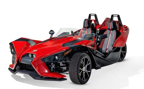 3 Wheel Car >> The Polaris Slingshot Is The 20 000 Three Wheeler A Marvel