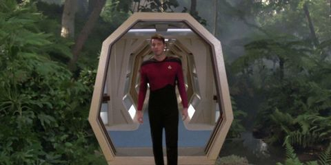 Star Trek Riker Holodeck