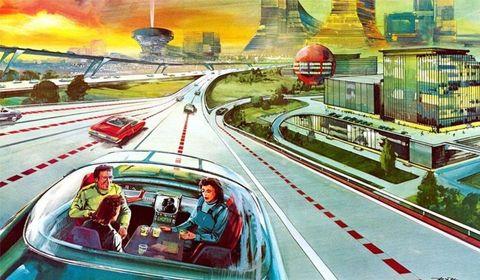 Road, Transport, Infrastructure, Landmark, Metropolitan area, Urban area, Highway, Illustration, Freeway, Lane,