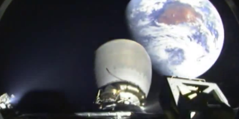 SpaceX DSCOVR mission Earth