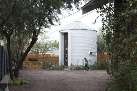 Property, Land lot, Shade, Sidewalk, Yard, Shed,