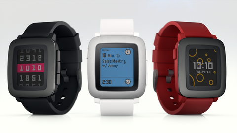 New Pebble Watches