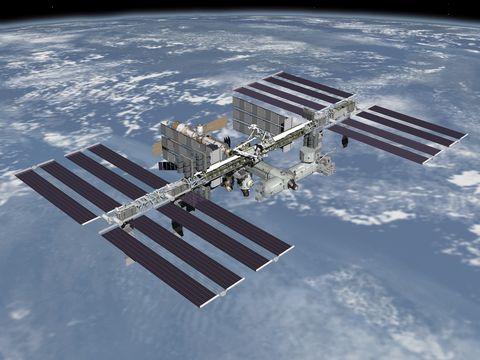Space station, Atmosphere, Space, Aerospace engineering, Spacecraft, Satellite, Urban design, Engineering, Outer space, Skyscraper,