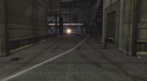 Road surface, Light, Black, Darkness, Grey, Parallel, Snapshot, Concrete, Pc game, Video game software,