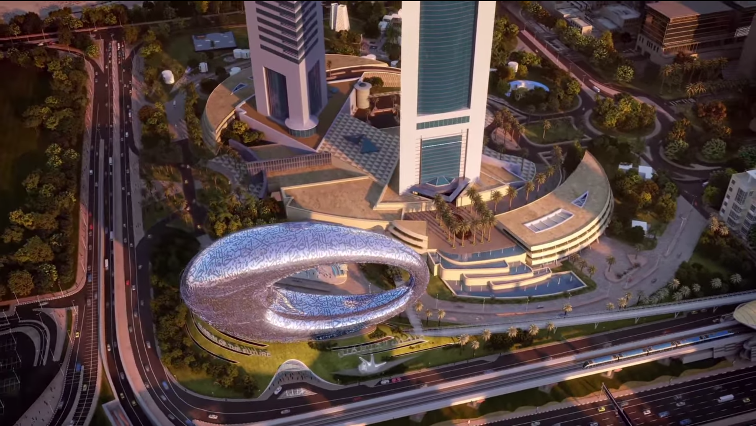 Dubai's Museum of the Future Is a Ring-Shaped Trip Into the World of Tomorrow