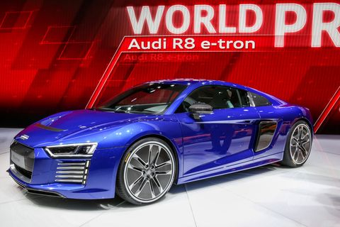 Audis Electric Supercar Is Absolutely Stunning - Audi super car