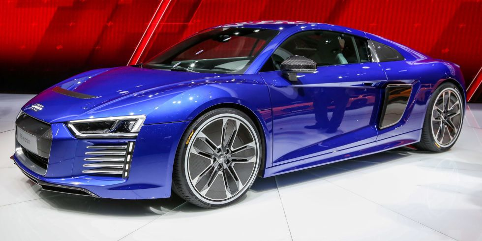 Audi's Electric Supercar Is Absolutely Stunning