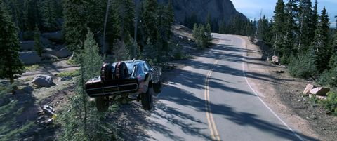 Automotive tire, Fender, Terrain, Tread, Biome, Off-road vehicle, Forest, Wilderness, Thoroughfare, Larch,
