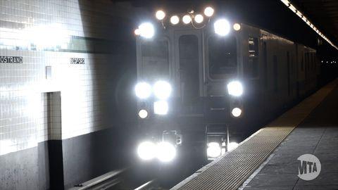 Meet New York City S Cyberpunk Track Inspection Subway Car