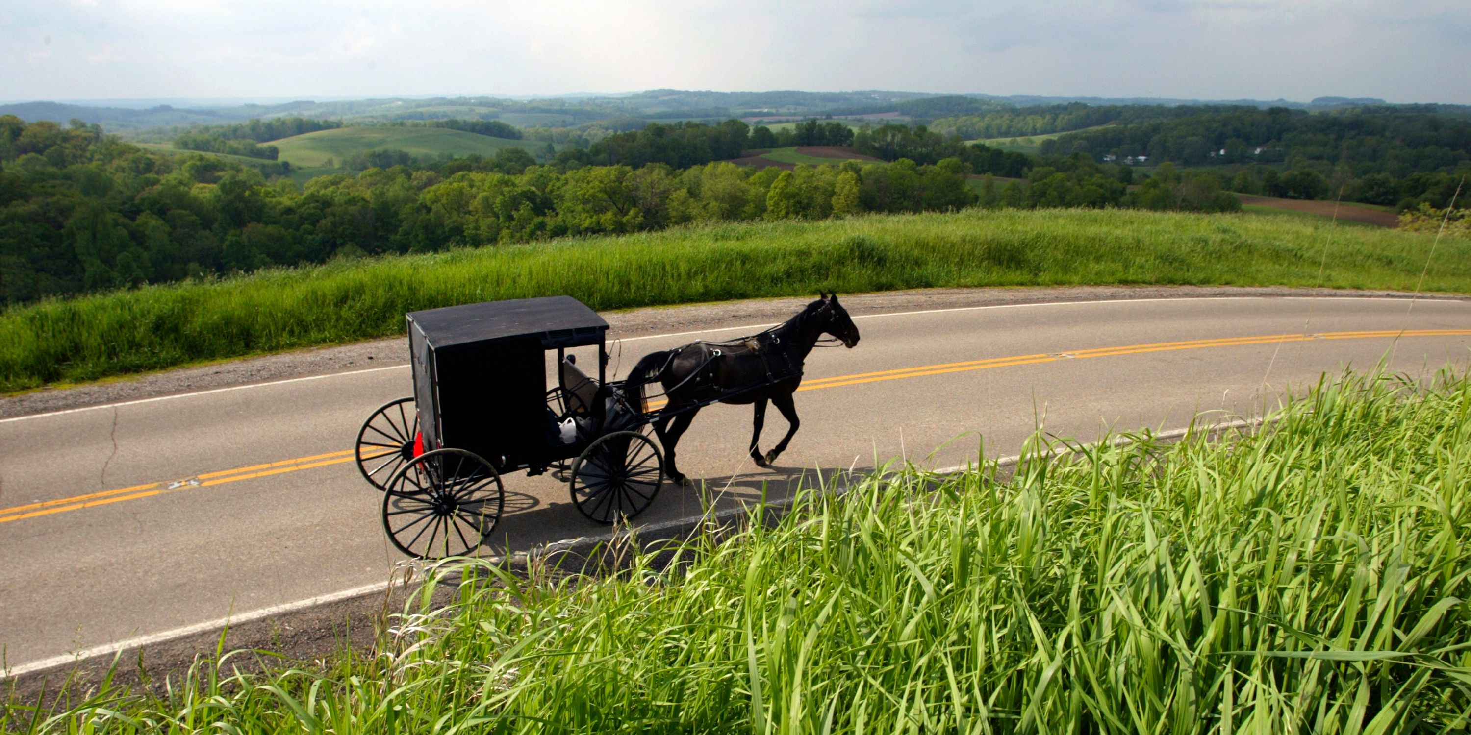 If you're looking to get off the grid for awhile, head to Holmes County, Ohio, home to one of the country's largest Amish communities. Start your trip along State Route 39 in Loudonville, a.k.a. the camp and canoe capital of the world and home to &lt;a href=&quot;http://www.mohicanadventures.com/&quot;&gt;Mohican Adventures&lt;/a&gt;, where you can hit the river for some canoeing, kayaking, or tubing. Continue on to Millersburg and pay a visit to &lt;a href=&quot;http://yodersamishhome.com/#_=_&quot;&gt;Yoder's Amish Home&lt;/a&gt;, a working Amish farm, for a guided tour and buggy ride. Feeling peckish? Visit &lt;a href=&quot;http://heinis.com/&quot;&gt;Heini's Cheese Chalet&lt;/a&gt; and stock up. Drive 20 miles on to Wilmot where you'll find the &lt;a href=&quot;http://www.wildernesscenter.org/&quot;&gt;Wilderness Center&lt;/a&gt;, a nonprofit with more than 10 miles of hiking trails, plus a planetarium and a wildlife observation room.    <!--EndFragment-->