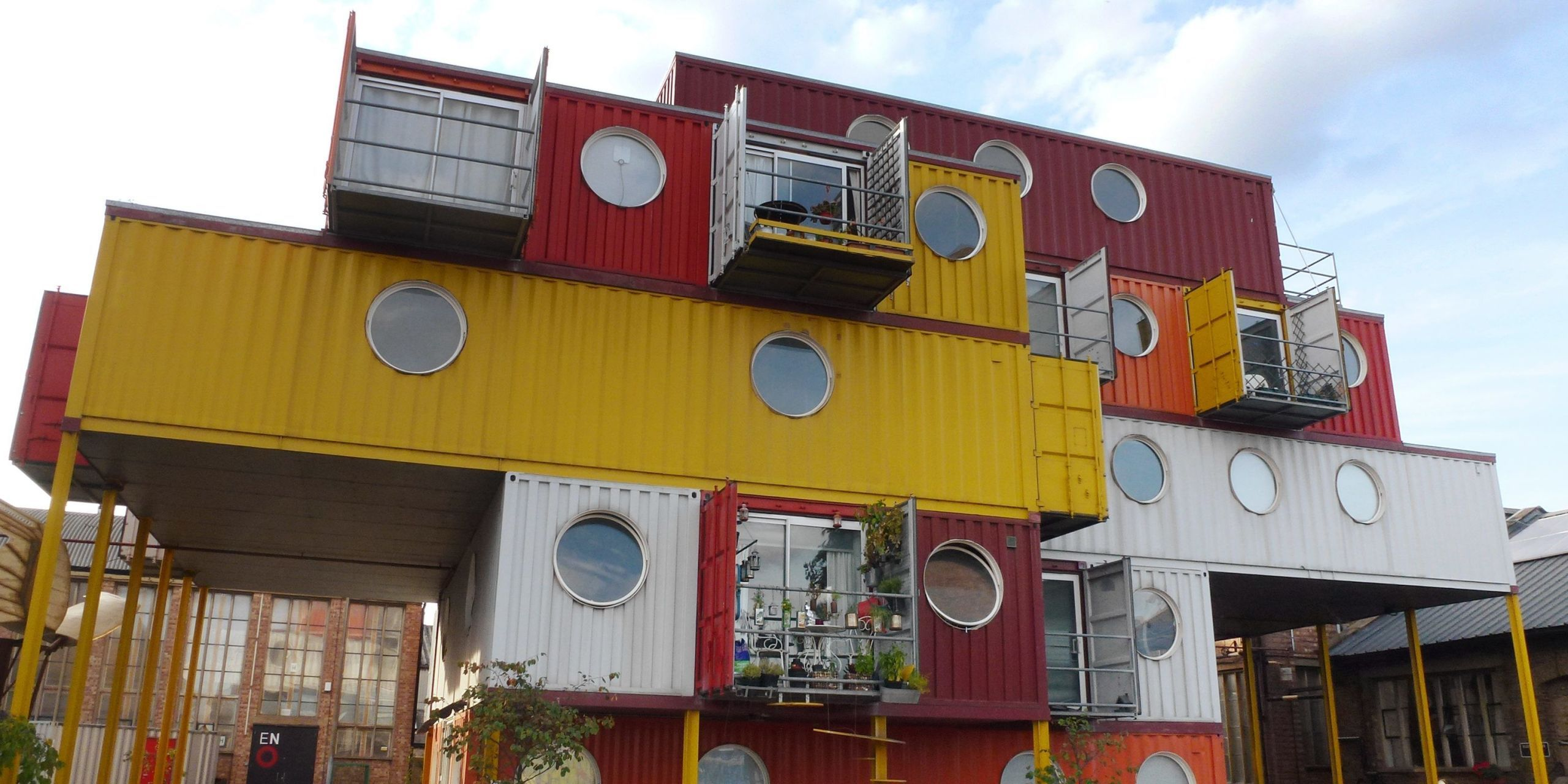 Image. Engineers And Architects Have Transformed Ordinary Shipping  Containers ...
