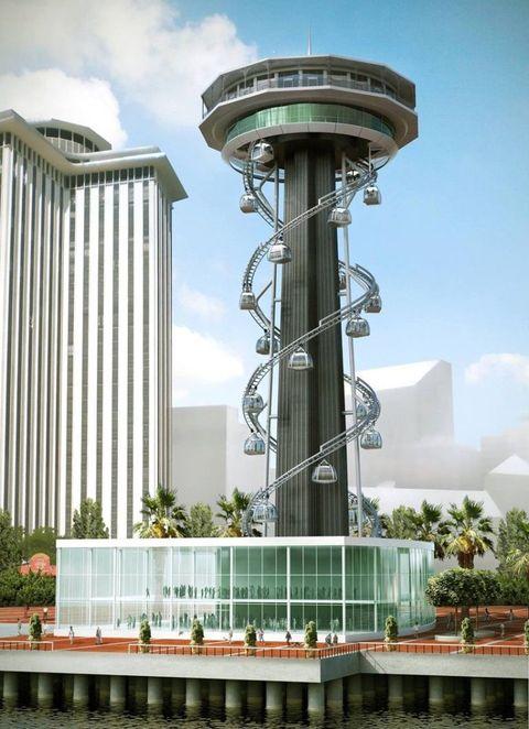 Daytime, Architecture, Tower, Infrastructure, Tower block, Facade, Urban area, Landmark, Real estate, Metropolitan area,