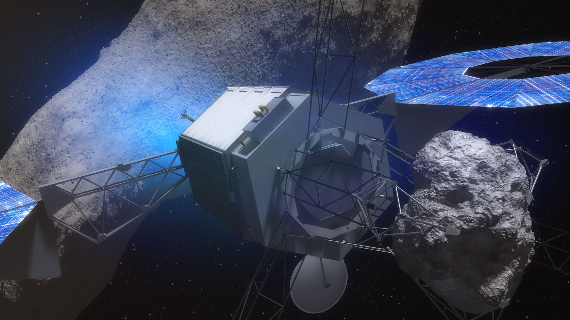 NASA Will Break Off a Chunk of an Asteroid and Tow it to the Moon