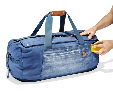 Blue, Product, Brown, Bag, Textile, White, Style, Denim, Electric blue, Luggage and bags,