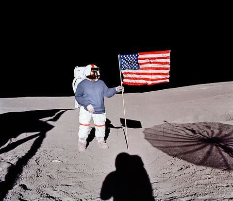 Flag, Umbrella, Flag of the united states, Space, Shadow, Flag Day (USA), Independence day,