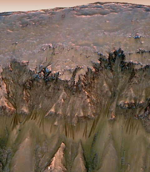 Geology, Badlands, Aerial photography,