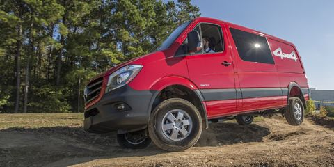 This Is the Unstoppable Van You Want to Take Off-Roading