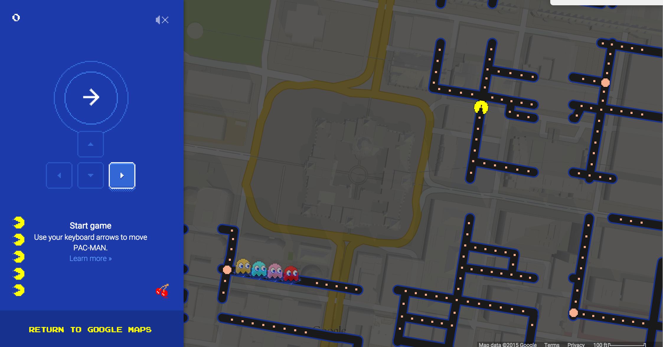 Google Maps Lets You Chomp Through