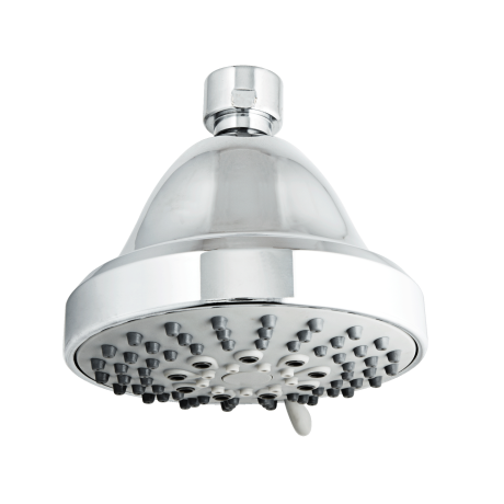 "<a target=""_blank"" href=""https://www.modernbath.com/Products/JacloShowerallS1656FunctionShowerheadwithJX7Technology/S165.html"">Jaclo JX7 Showerall 6 Function Showerhead</a> ($69)  With six settings (including a strong 1""-diameter jet, a misty spray and a pulsating stream), this model has a flow for every mood.  <strong>Good to know:</strong> You can use its Pause setting to help save water while shaving (and it keeps your heat setting while paused!)."