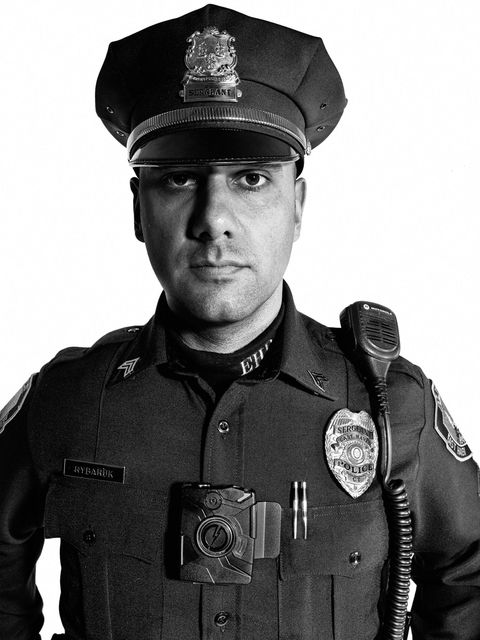 Sgt. Anthony Rybaruk  East Haven Police Department, Connecticut  Years of service: 10
