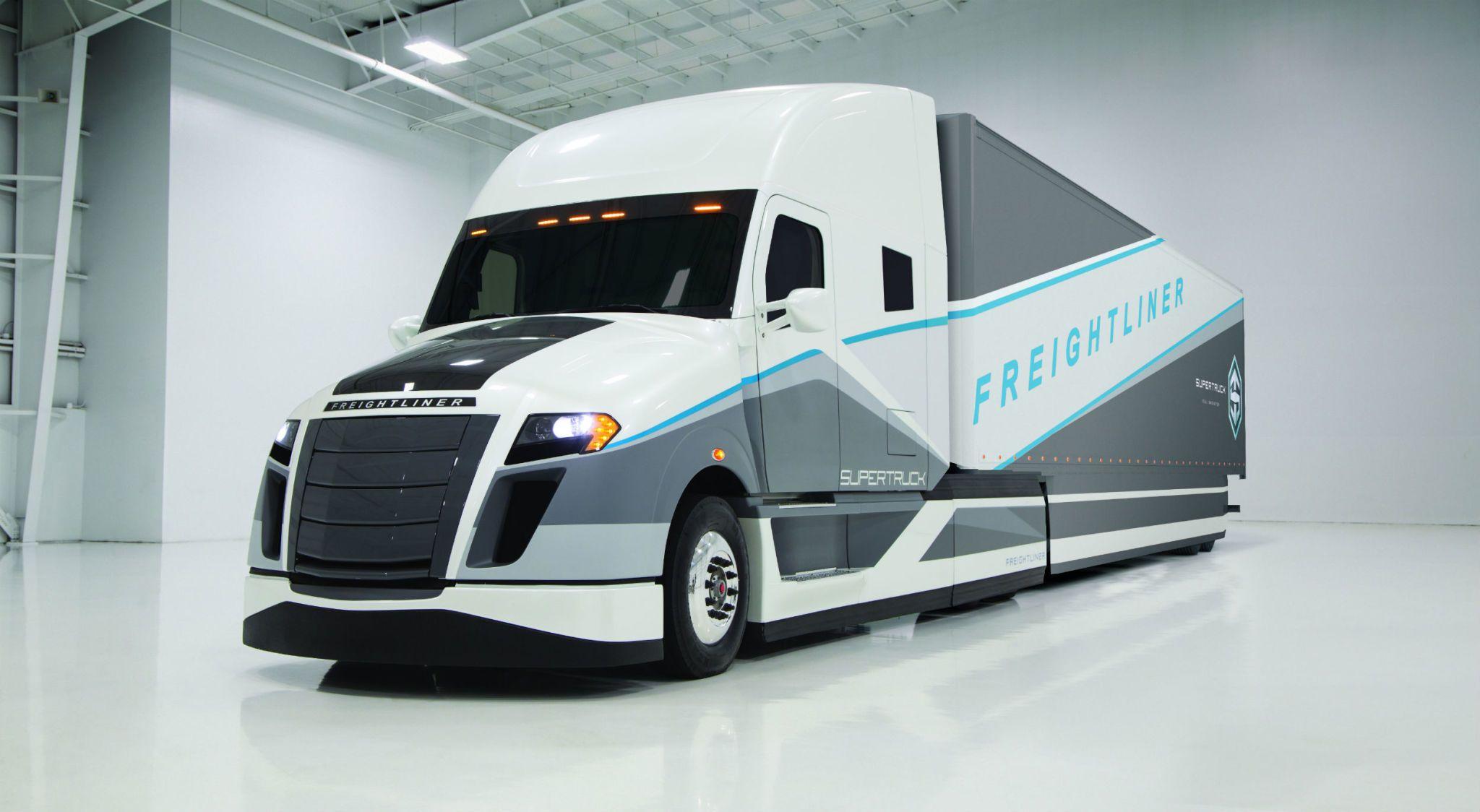 Concept semi truck