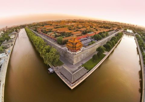 """Photographer Trey Ratcliff used a DJI Phantom 2 to <a href=""""https://www.youtube.com/embed/A8I5Z01OKvw"""">capture this footage</a> of China's Forbidden City (and got<a href=""""http://www.stuckincustoms.com/2014/06/19/dji-quadcopter-china-detention""""> detained by the police</a> in the process)."""