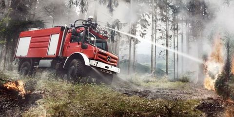 The World's Most Versatile and Badass Truck Is This Monster Mercedes