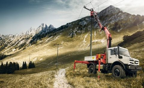 You can fix power lines in remote, picturesque mountain locations.