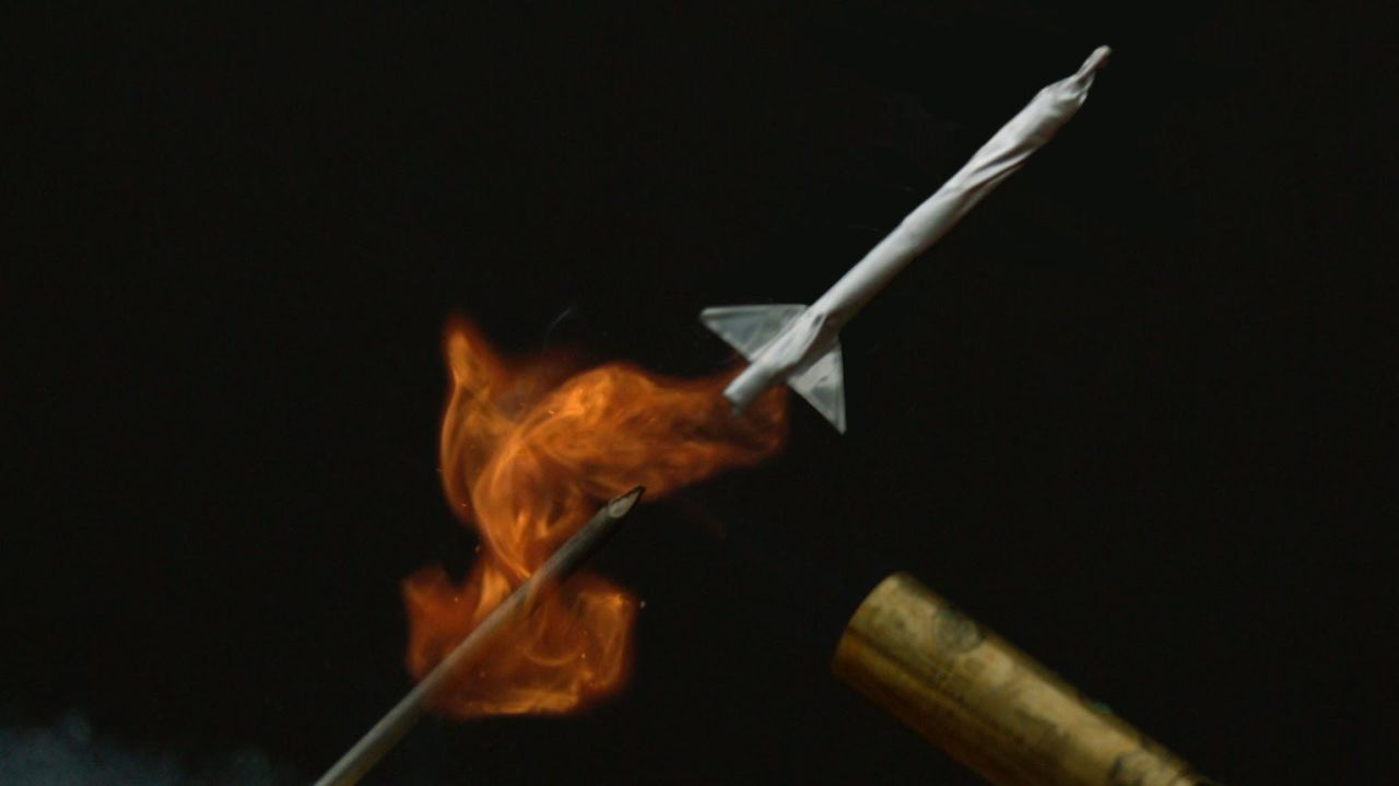 Watching a Matchstick Rocket Explode Is Cooler in Slow-Mo