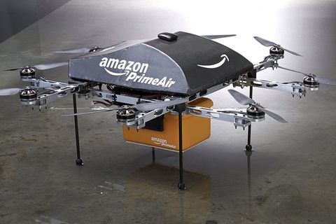 Amazon Wins Approval to Test Delivery Drones