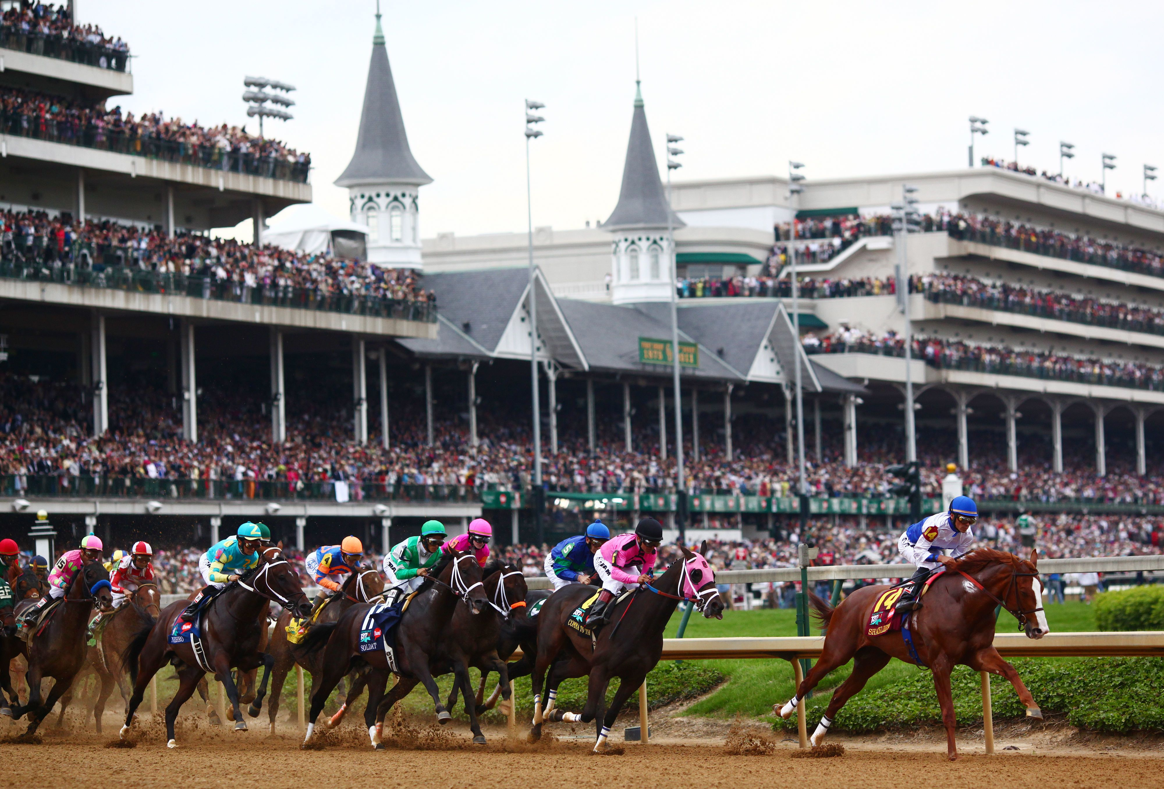 The Kentucky Derby Bans Selfie Sticks and Drones