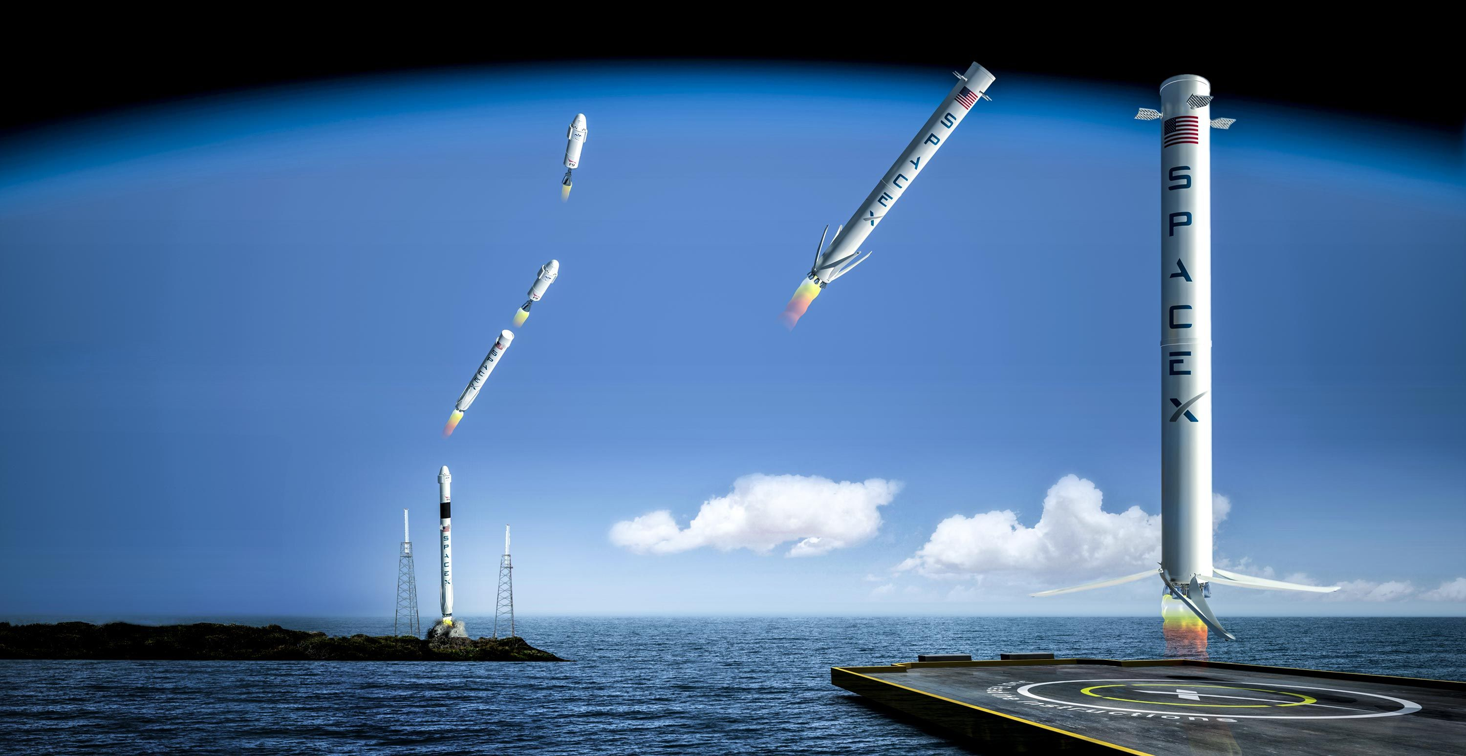 The Illustrated Guide to SpaceX's Reusable Rocket Launch
