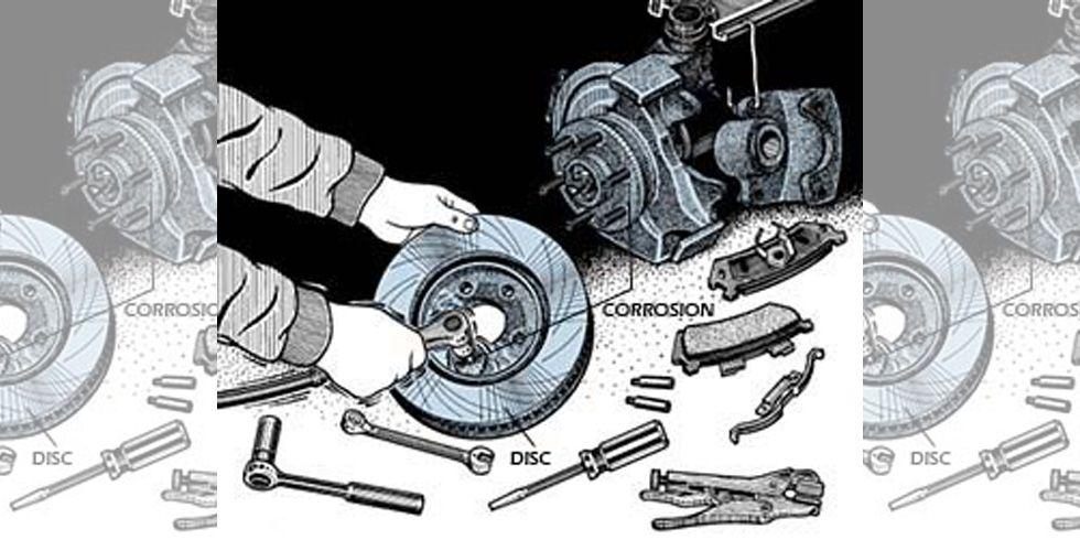 Servicing Brake Discs
