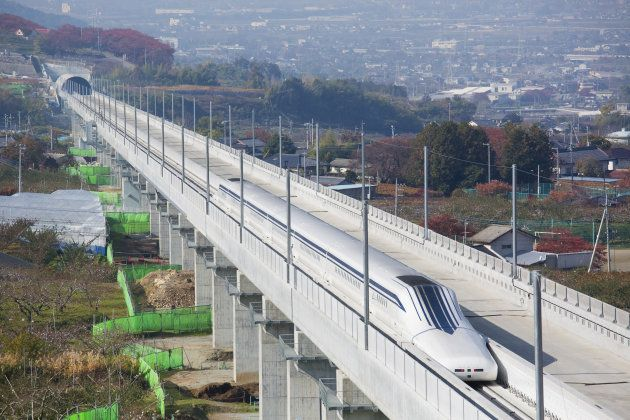 Japan Maglev Train Sets 366 Mph Speed Record