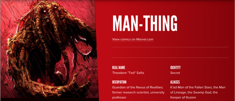This Site Can Tell You About (Almost) Any Marvel Hero
