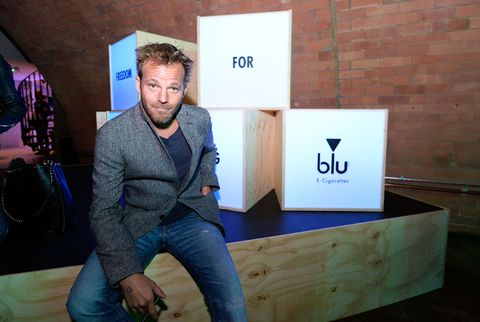 Stephen Dorff at the official UK launch of blu eCigs, the premier global electronic cigarette, and the start of the brand's forthcoming UK music tour at Kachette, London on May 8, 2014 in London, England.