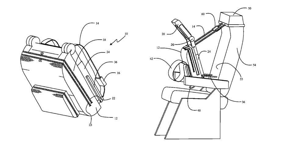 Boeing Wants to Patent an Upright Sleeping System for