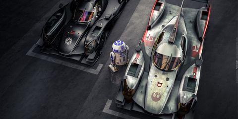 Oreca Star Wars livery