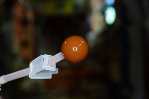 Brown, Peach, Ingredient, Chemical compound, Sphere, Egg, Cable,
