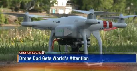 Machine, Drone, Carmine, Technology, Toy, Aircraft, Metal, Iron, Aerospace engineering, Engineering,