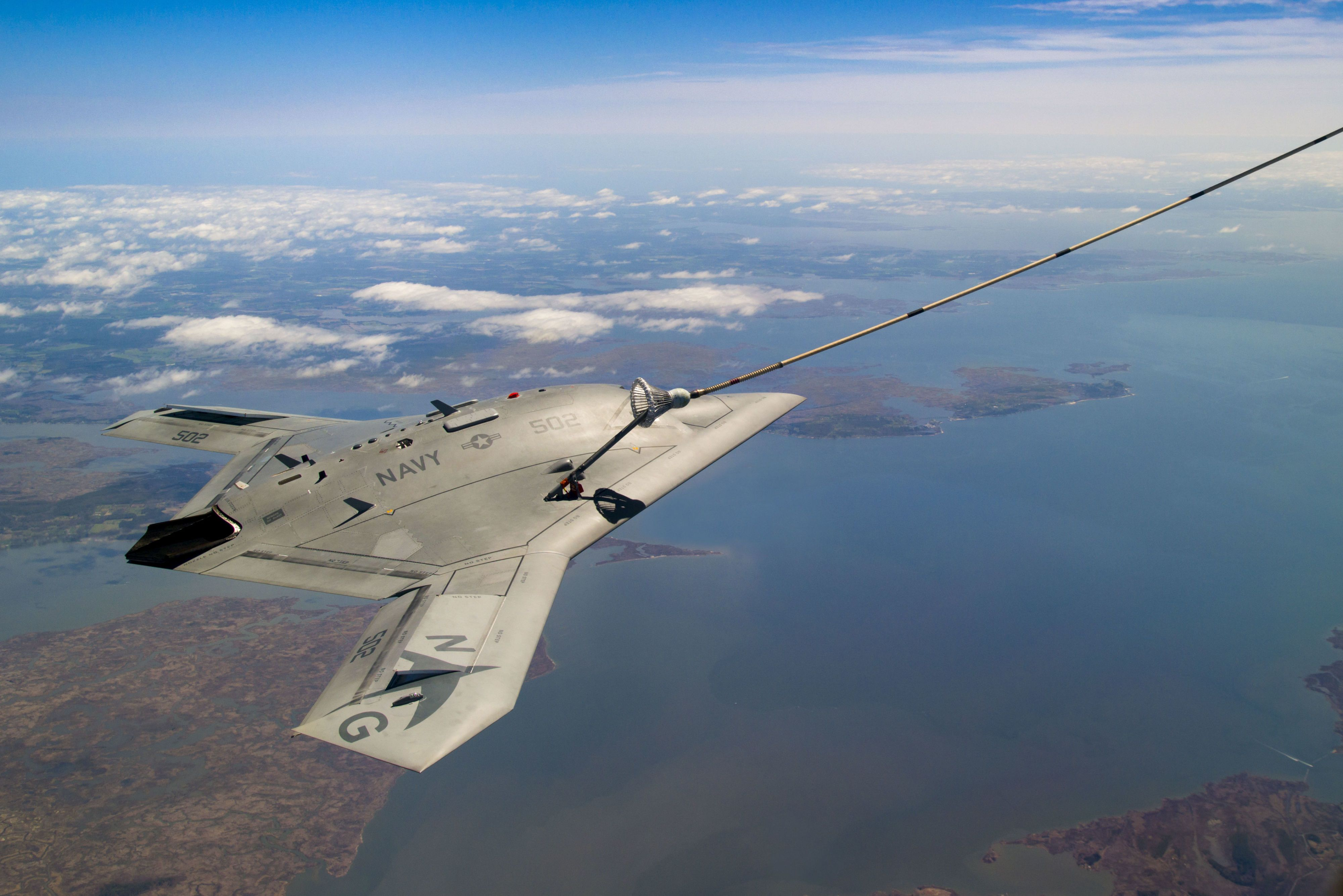 The Unmanned X-47B Just Pulled Off a Mid-Air Refueling