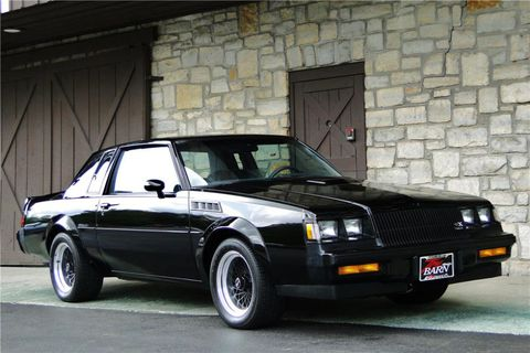 It sounds strange to modern onlookers, to whom the current high-performance Buick, the Regal GS, may not be a big attention-getter, but this 1987 GNX represented the epitome of American speed. It was quicker than contemporary foreign exotics, and nearly as rare. (Photo: Barrett-Jackson)