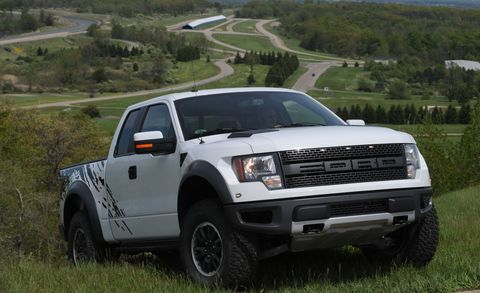 2010 Ford F-150 SVT Raptor model shown