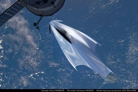 Atmosphere, Space, Spacecraft, Aerospace engineering, Silver, Outer space, Supersonic aircraft, Spaceplane, Jet aircraft, Aerospace manufacturer,